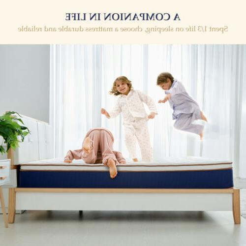 BedStory innerSpring Mattress Gel Foam