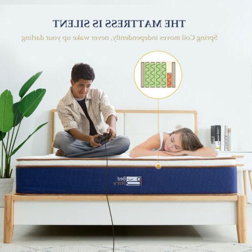 BedStory Modern Foam bed Queen Latex