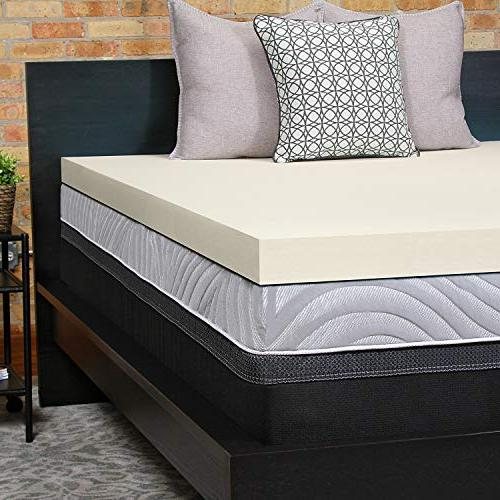 Sealy Perfect Chill 3 Inch Memory Foam Cooling Mattress