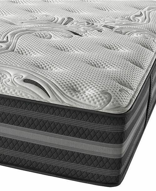queen simmons black reyna luxury firm mattress