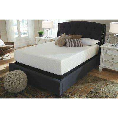 Signature Design by Ashley Chime 12 in Full Memory Foam Bed