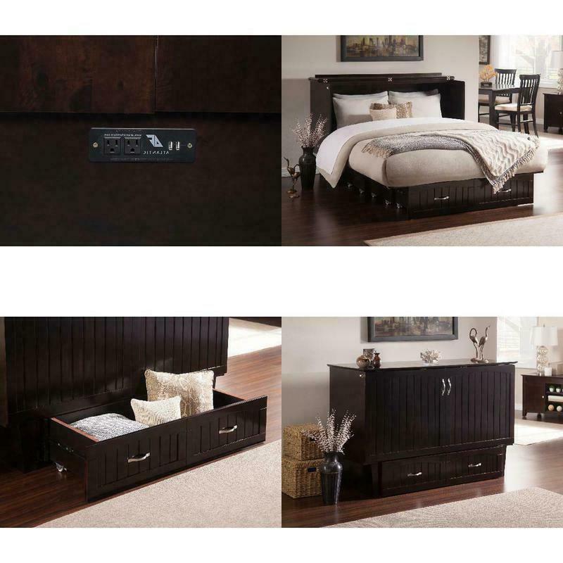 space saving premium queen twin storage bed
