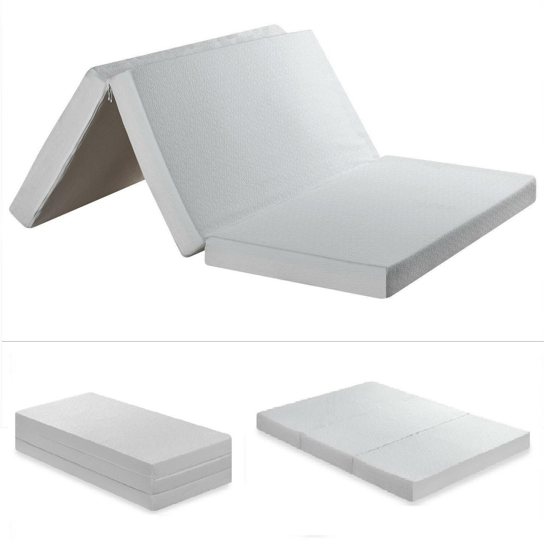 Tri Folding Portable Memory Mattress