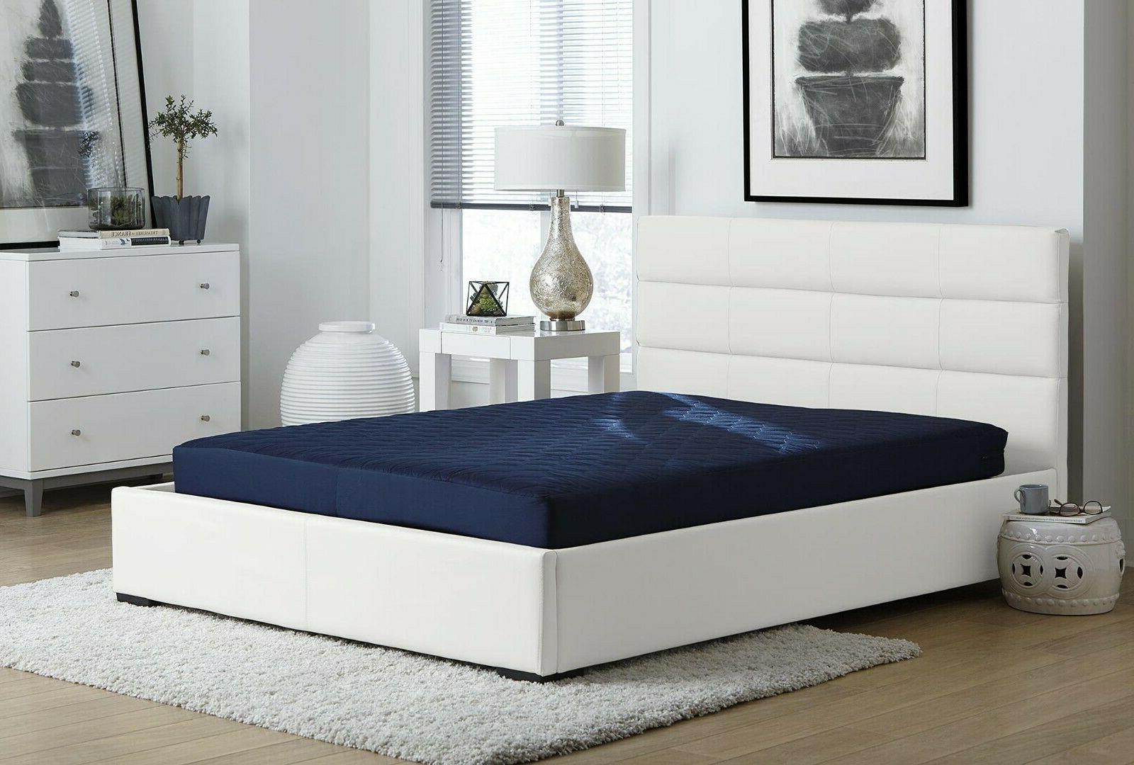 twin size memory foam mattress 6 quilted