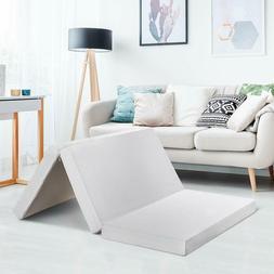 "Best Price Mattress 4"" Trifold CertiPUR-US Memory Foam Mattr"