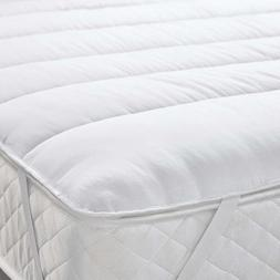 Mattress Bed Topper Cover Double Size Foam Extra Memory Soft