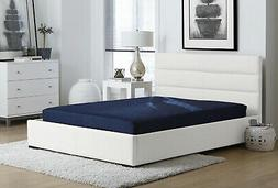 Memory Foam Mattress Full Size 6 Inch Comfort Polyester Quil