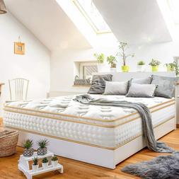 BedStory Gel Infused Memory Foam Queen Size Spring Mattress