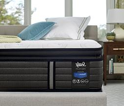 Sealy Response Premium 14-Inch Cushion Firm Euro Pillow Top