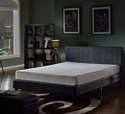 "Swiss Ortho Sleep® 8"" High-Density MEMORY FOAM MATTRESS, w/"
