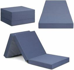 SLEEPLACE 04TM01S Multi Layer Tri-Folding Memory Foam, Toppe